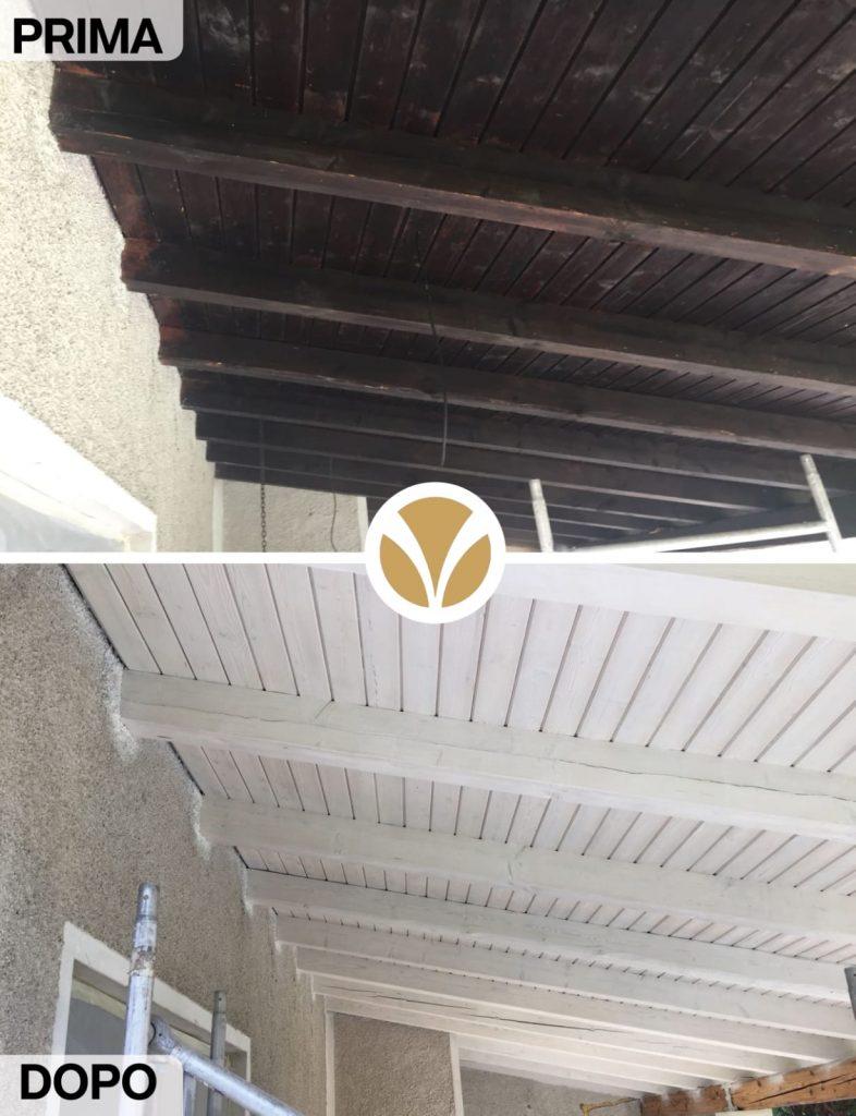 Travi A Vista Illuminazione consigli per illuminare un soffitto con travi di legno a